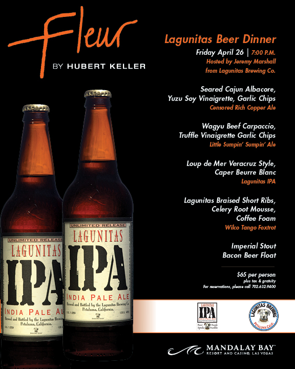 1385-18 Fleur Lagunitas Beer Dinner Items V00