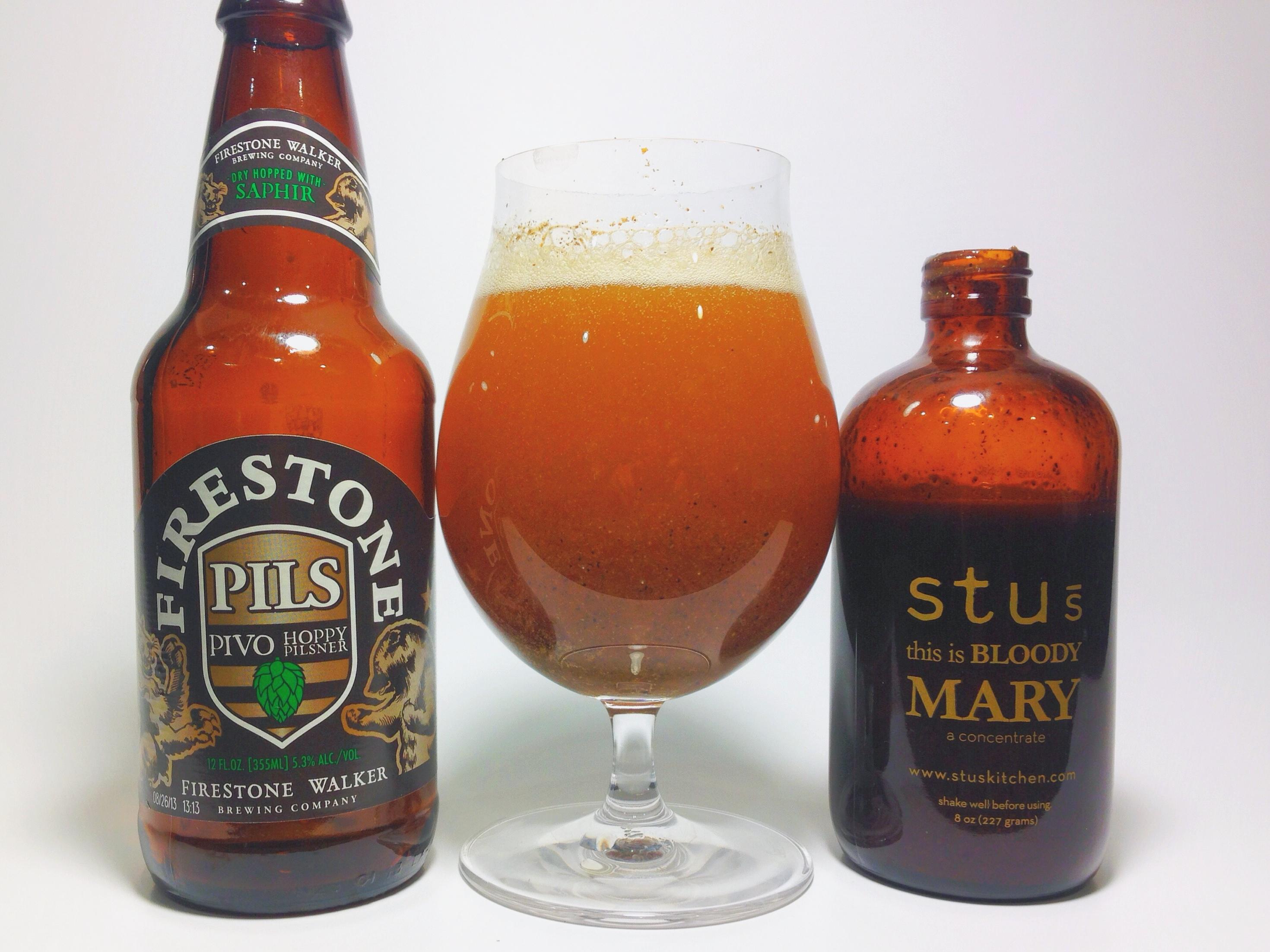 Firestone Walker Stu's Bloody Mary