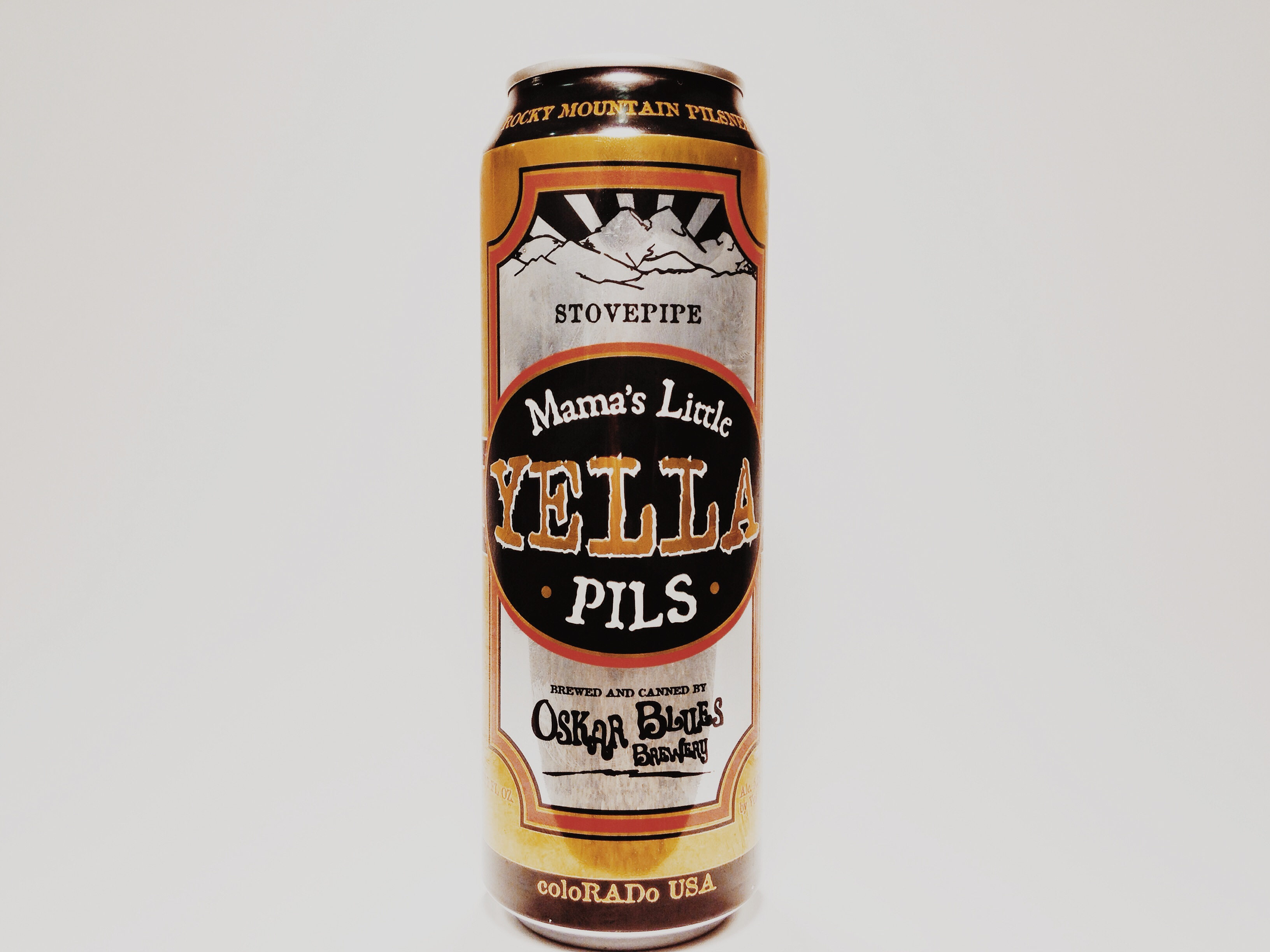Oskar Blues Mama's Little Yella Pils Can