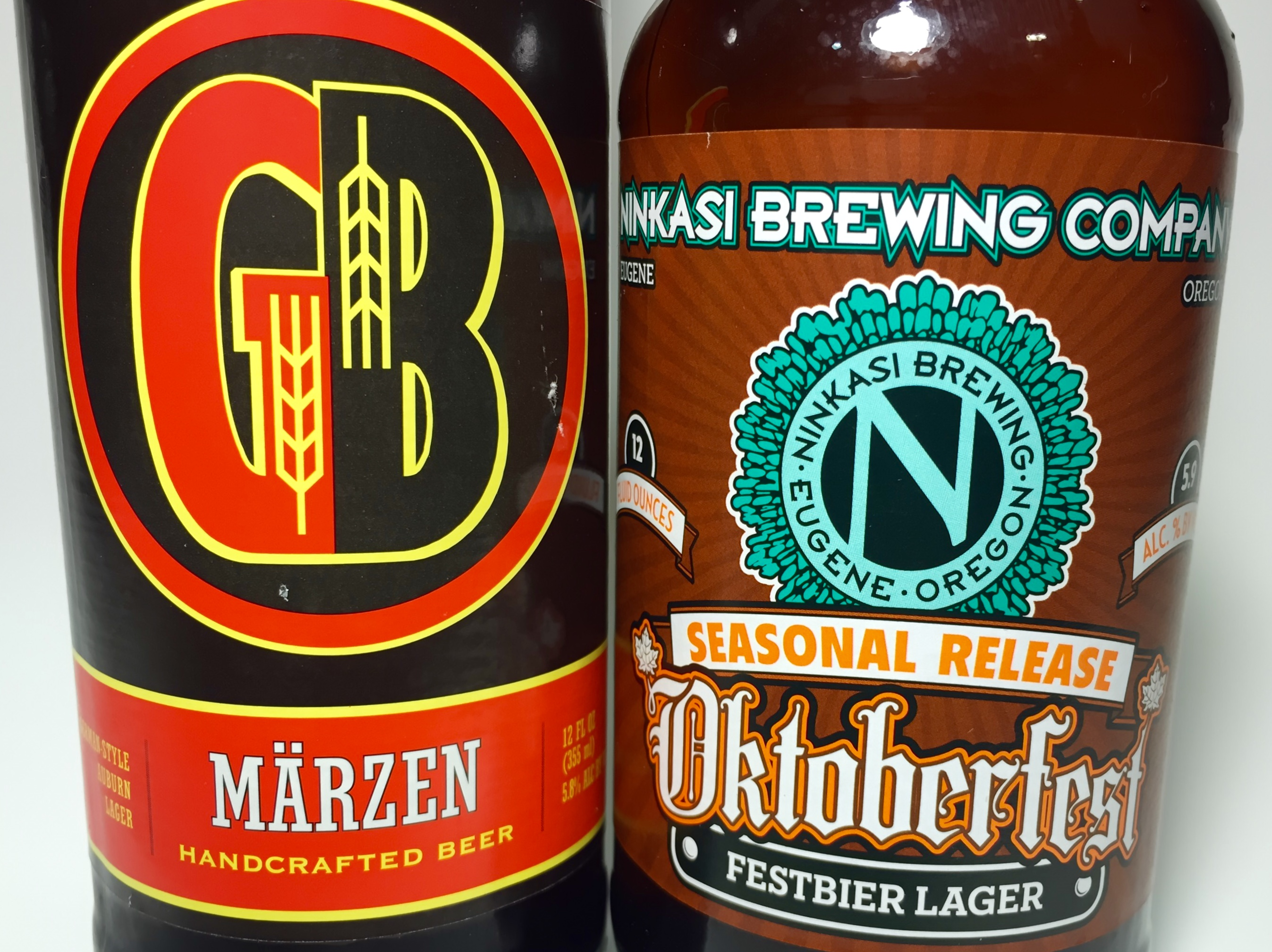 Gordon Biersch and Ninkasi Märzen Oktoberfest